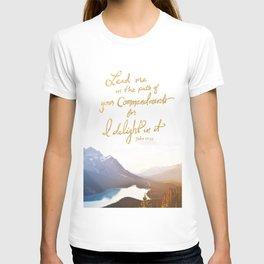 Psalm 119:35 T-shirt