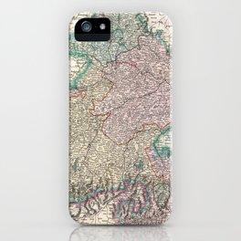 Vintage Map of Bavaria Germany (1799) iPhone Case