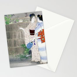 Mizuno Toshikata - MOONFLOWER - Top Quality Image Edition Stationery Cards