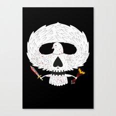 Dove of Death Canvas Print
