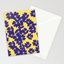 Blåsippor. Liverwort Stationery Cards
