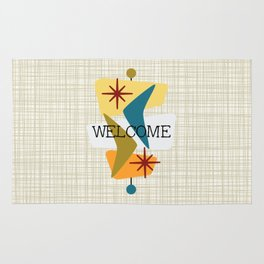 Mid Century Modern Welcome 1a Rug