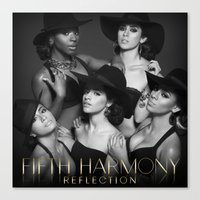 fifth harmony Canvas Prints featuring Fifth Harmony - Reflection by xamjx3