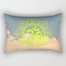 Namaste Anahata Rectangular Pillow