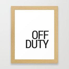 For home. Framed Art Print