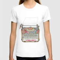 write T-shirts featuring I DON'T KNOW WHAT TO WRITE YOU by Bianca Green