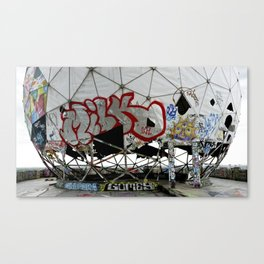 Teufelsberg Berlin Canvas Print