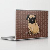 pug Laptop & iPad Skins featuring Pug by Sandra Rivas