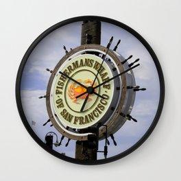 Fishermans Wharf Wall Clock