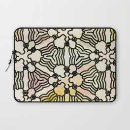 Floral Circuitry Laptop Sleeve