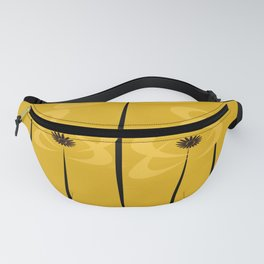 Black Eyed Yellow Flowers Fanny Pack