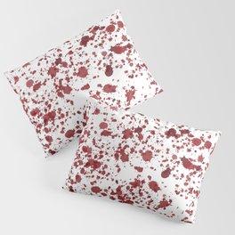 Blood Spatter Pillow Sham