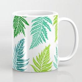 Inked Ferns – Green Palette Coffee Mug