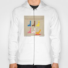 No069 My Reservoir Dogs minimal movie poster Hoody