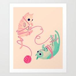 Tangled Art Print