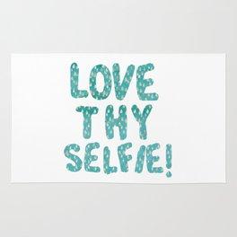 LOVE THY SELFIE! Rug
