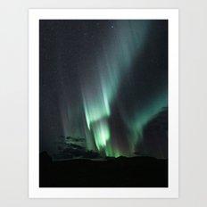 Aurora Borealis X Art Print