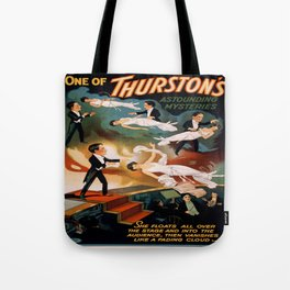 Vintage poster - Thurston the Magician Tote Bag
