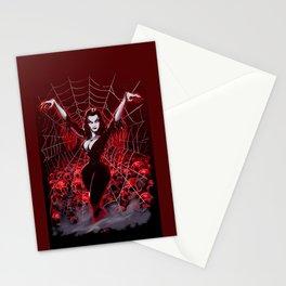 Web of Vampira Stationery Cards