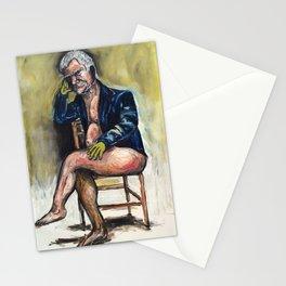 Larry Godgosian (oil on canvas) Stationery Cards