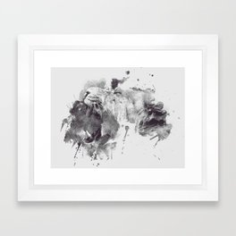 Basic Instinct Framed Art Print