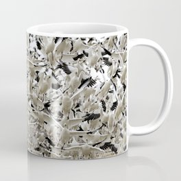 Thousands and Thousands of Snow Geese at Bosque del Apache National Refuge by OLena Art Coffee Mug