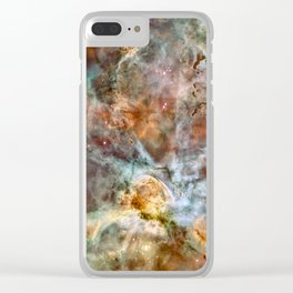 Carina Nebula, Star Birth in the Extreme - High Quality Image Clear iPhone Case
