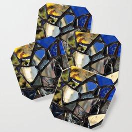 Closeup (PHOTO) of a Glass Mosaic Coaster
