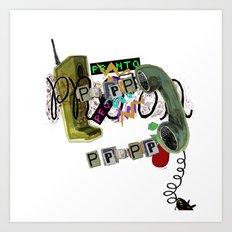 telephone  Art Print