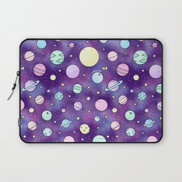 Need Some Space! Kawaii Galaxy Doodle Laptop Sleeve