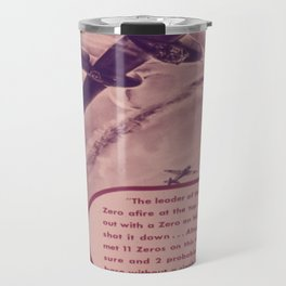Vintage poster - Give Us More P-38's Travel Mug