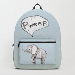 Cute elephant Backpack