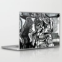 picasso Laptop & iPad Skins featuring Basically Picasso by Marcela Caraballo
