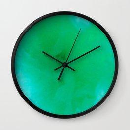 Textures (Green version) Wall Clock