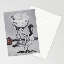 THE AUTUMN MIGRATIONS Stationery Cards