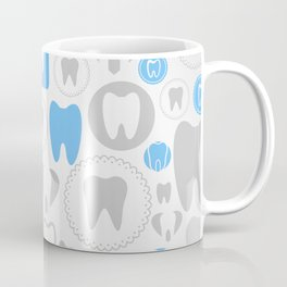 Tooth a background Coffee Mug