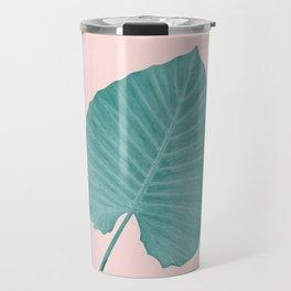 Love Leaves Evergreen Blush - Him #3 #decor #art #society6 Travel Mug