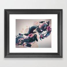 sea calf Framed Art Print
