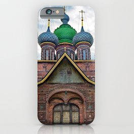 St. John the Baptist Church,Yaroslavl, Russia iPhone Case