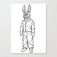 Rotten rabbit Canvas Print
