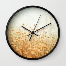 The Magic of Fog Wall Clock