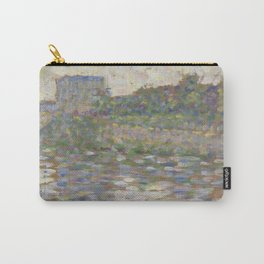 The Seine at Courbevoie Carry-All Pouch
