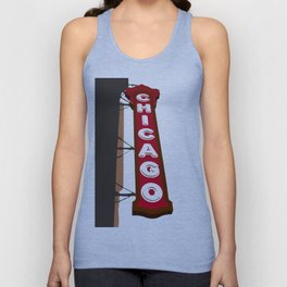 Chicago Sign Unisex Tank Top