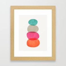 Balance (Pink) Framed Art Print