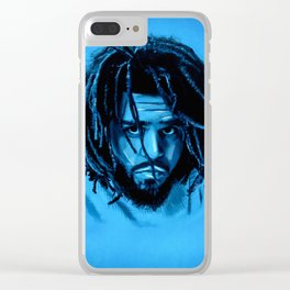 J. Cole Clear iPhone Case