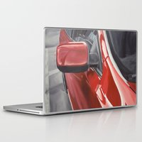 lincoln Laptop & iPad Skins featuring Lincoln MKS by Craig Holland Illustration