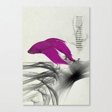 Fish never sleep Canvas Print