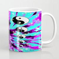 psychedelic Mugs featuring Psychedelic  ☯☯ by Gabbi GOON
