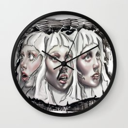 Sia Elastic Heart - Maddie Ziegler Wall Clock
