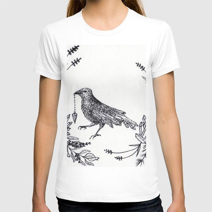 Crystal Raven T-shirt
